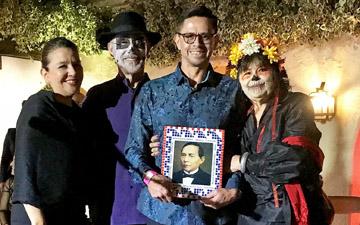 Adán Ortega Receives Benito Juarez Award